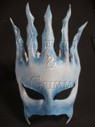 Snow Queen Crown Mask